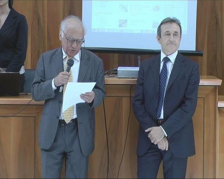 Edoardo d'Avossa e Mario Baldini