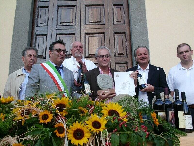 Il riconoscimento al Brunello di Montalcino durante Bancarel'Vino