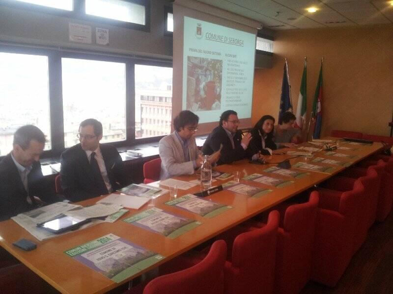 Conferenza stampa Legambienti su Comuni Ricicloni