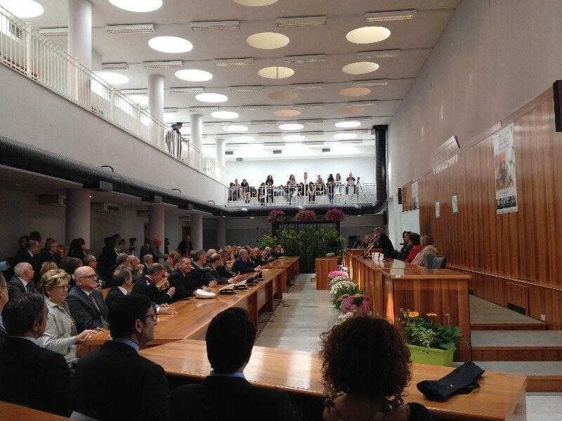 Palazzo di Giustizia, Aula d'Assise