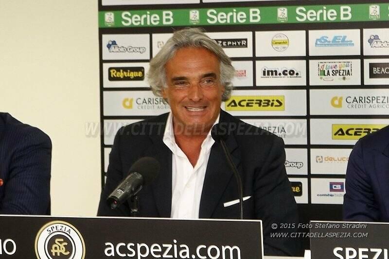 Presidente Spezia Calcio Giovanni Grazzini