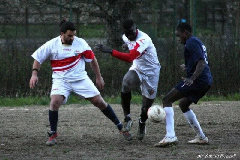 Fasi di gioco della partita Carpena - Favaro