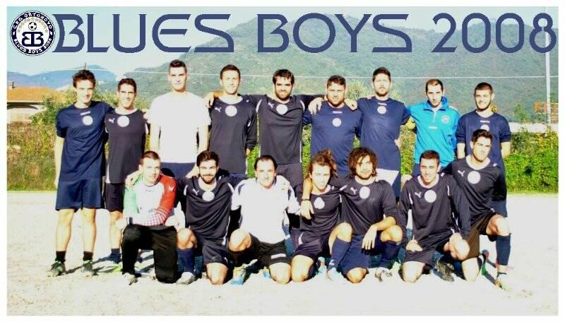 La formazione dei Blues Boys di Ortonovo.