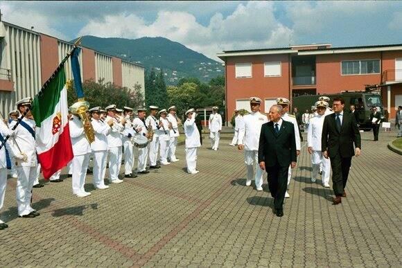 Ciampi in visita alla Spezia
