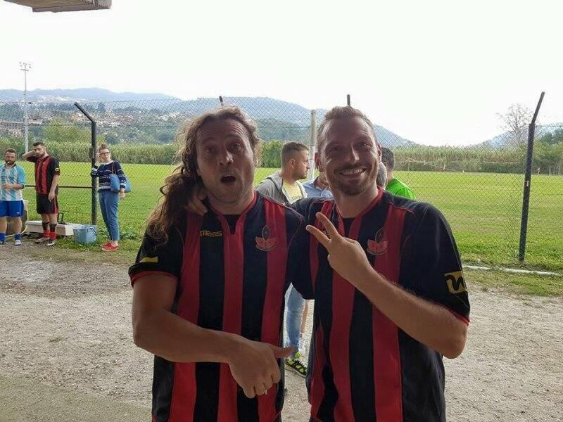 Claudio D'Ascoli e Marco Toracca sono la coppia offensiva del Ceparana Amatori.