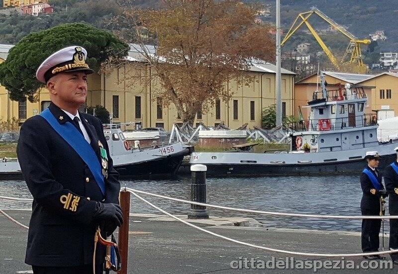 Il comandante del Dipartimento marittimo Nord, Giorgio Lazio