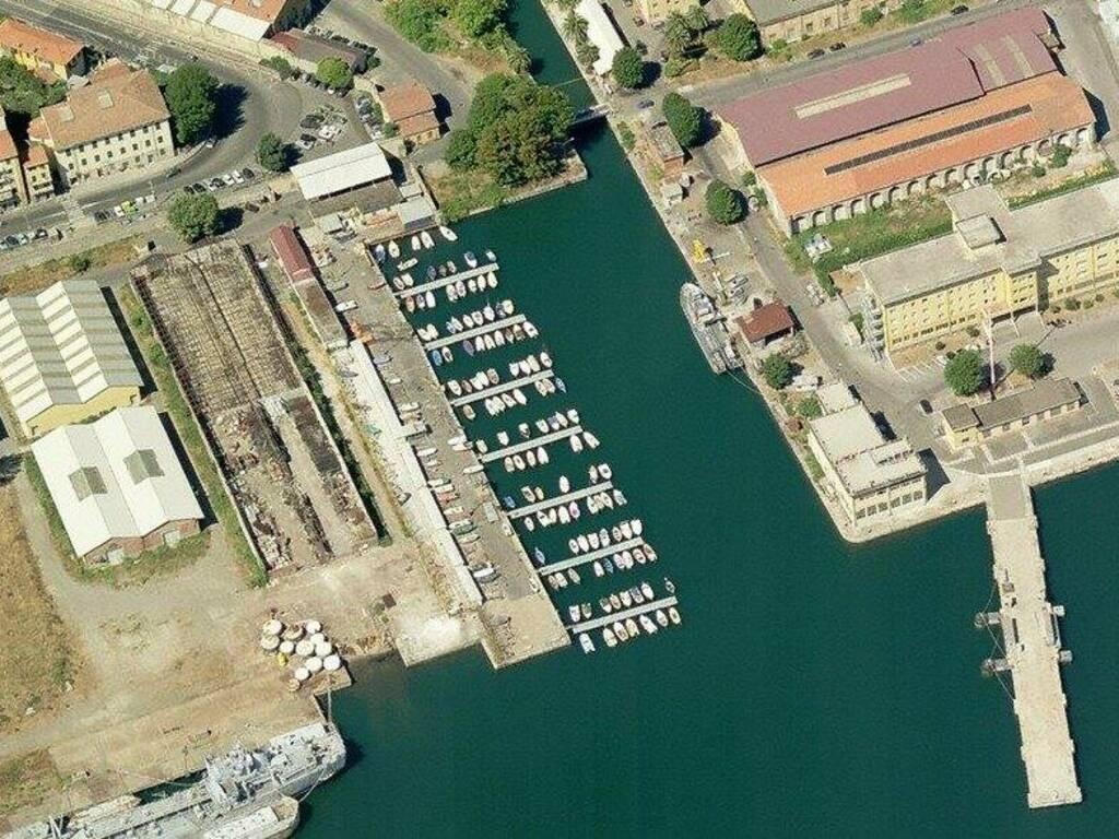 Il porticciolo di San Vito e l'area adiacente che sarà data in concessione al Comune