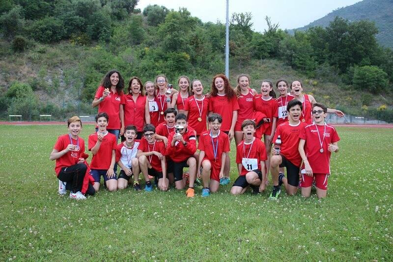 Atletica Spezia Duferco, un bel gruppo