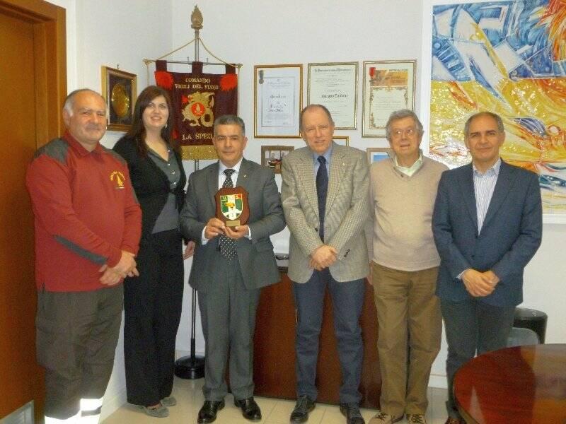 Vincenzo Melillo, Francesca Bassi, Calogero Daidone, Piero Lorenzelli, Pierangelo Devoto e Piero Muscinesi