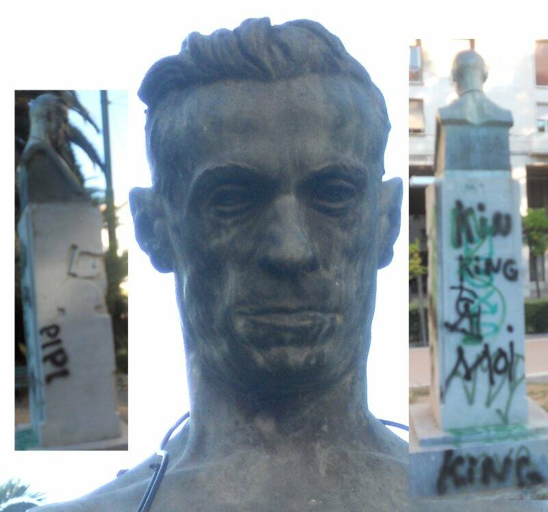 Il monumento a Ubaldo Mazzini