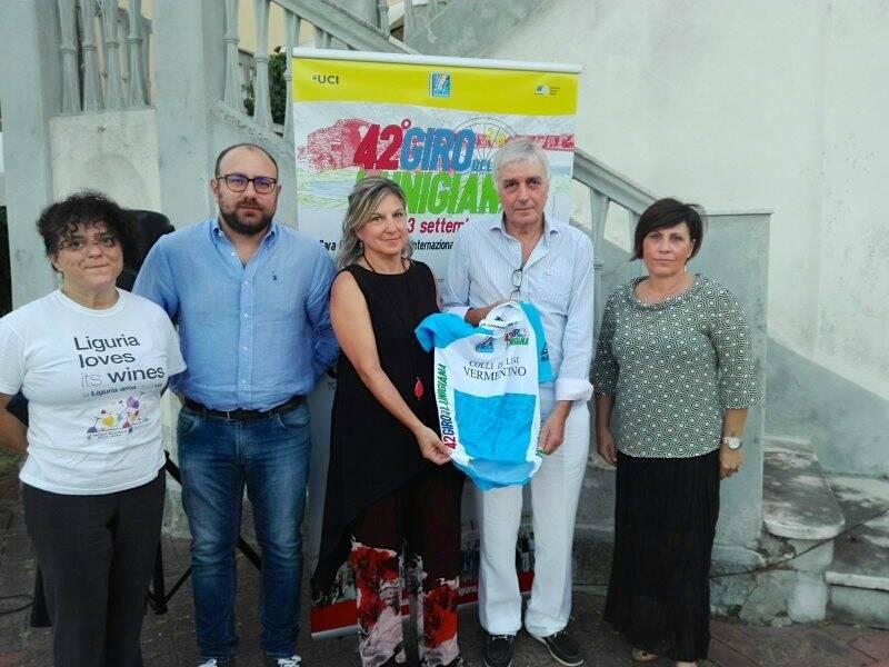 Al Giro della Lunigiana una maglia dedicata a Federico Ricci e al Vermentino