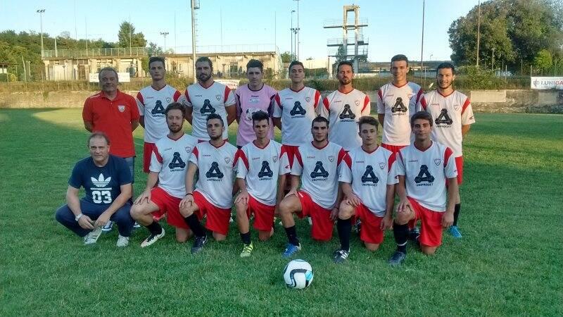 Una formazione del Ceparana per la stagione 2017 - 2018.