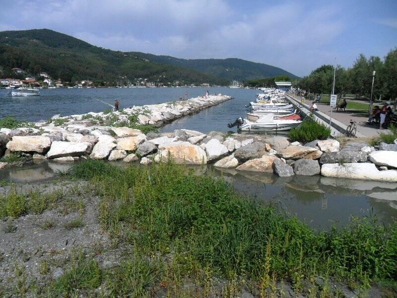 La foce del Canale Fabbricotti
