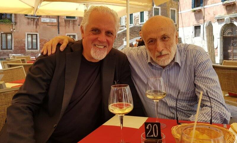 Franco Costa e Carlo Petrini