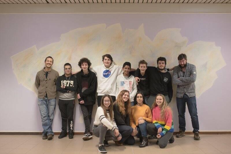 Studenti del Da Passano