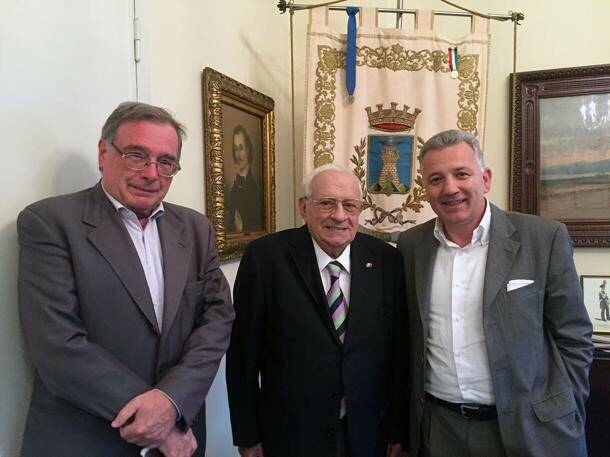 Francesco Bernardi con Egidio Banti e Pierluigi Peracchini