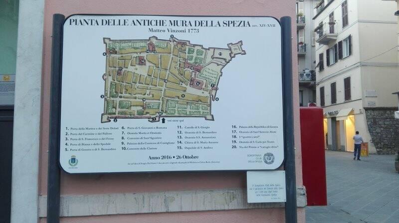 La pianta della città nella cartografia di Vinzoni