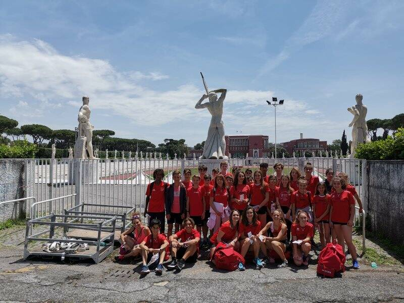 Atletica Duferco a Roma