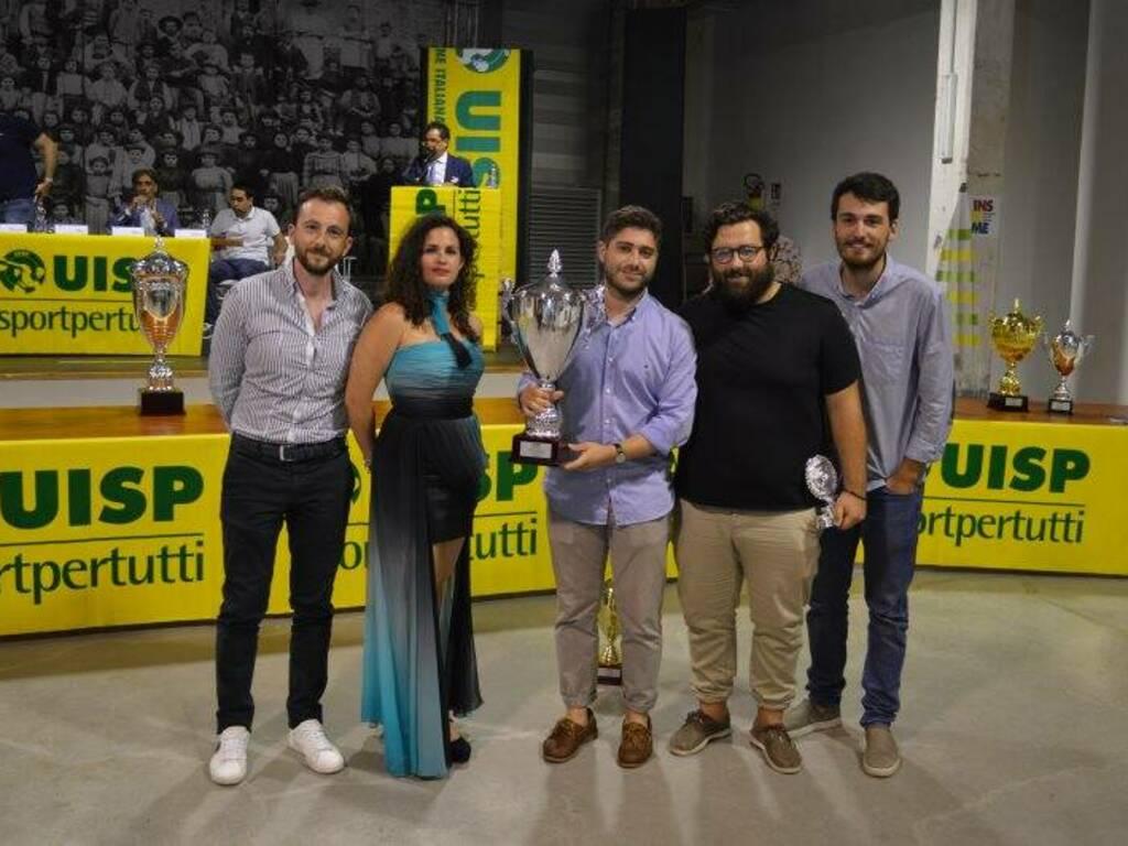 L'ASD Terramare che ha vinto la III Serie e viene promosso in II Serie.