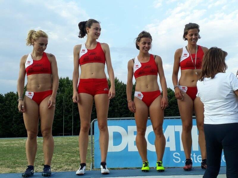 Ilaria Canaccini, Rita Ricciotti, Eleonora Martini e Rachele Gerardi