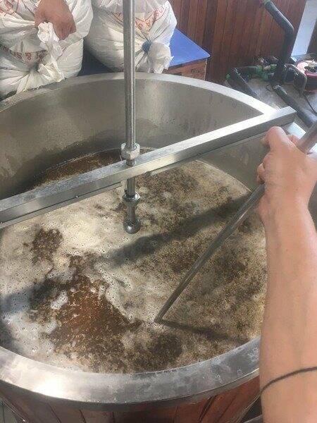 """Le fasi della preparazione della birra """"La donzella"""""""