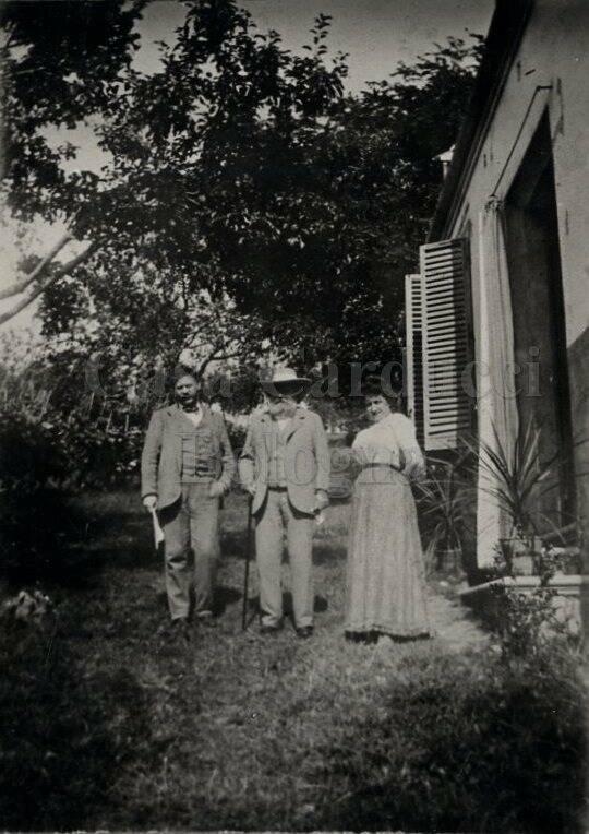 Severino Ferrari, Giosuè Carducci e Ida Gini