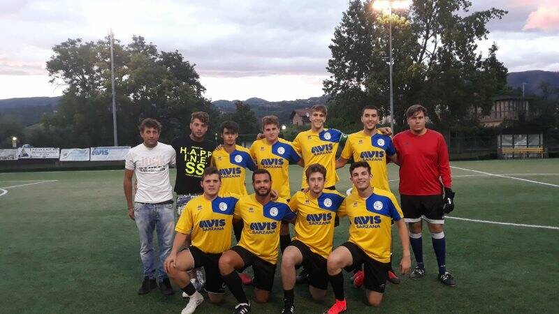"""Il Calcio Nave al IV Memorial Roberto Casini sezione """"Young""""."""