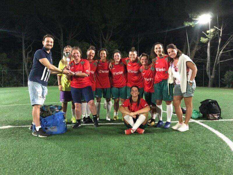 Il Picco Team che ha partecipato alla Soccer Summer Week.