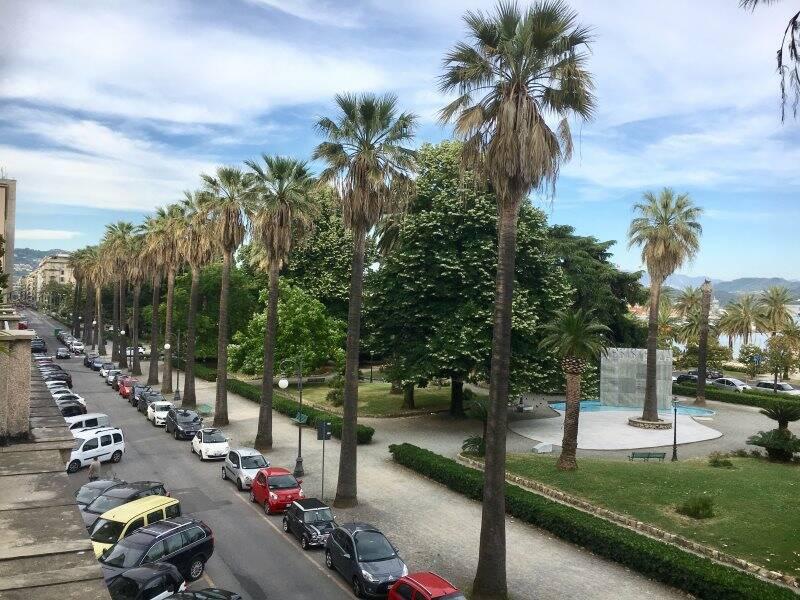 Viale Mazzini e i giardini monumentali