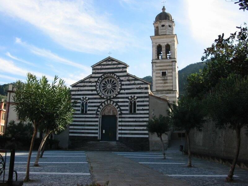 La chiesa di Sant'Andrea a Levanto