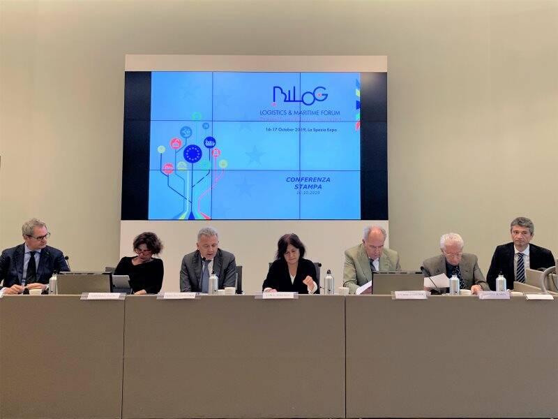 I relatori della conferenza stampa di presentazione di Bilog 2019