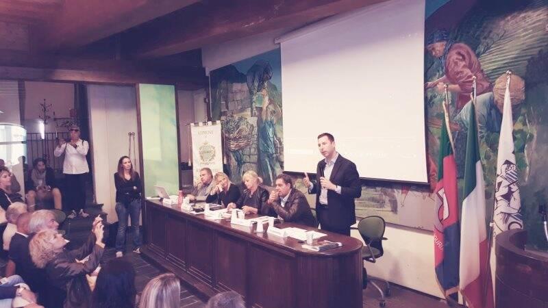Via dell'amore, conferenza stampa per il progetto di fattibilità
