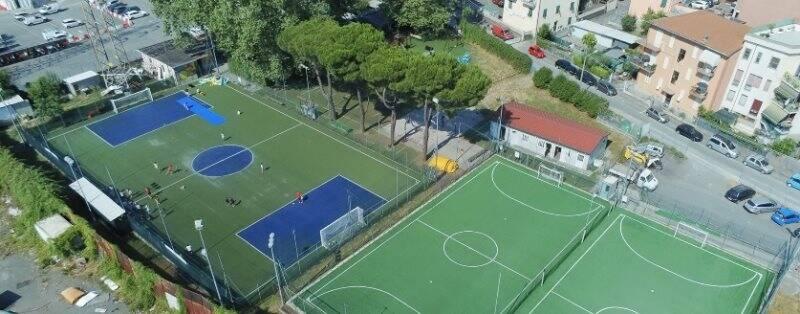 Nella foto il Centro Sportivo La Pianta 310 della Spezia