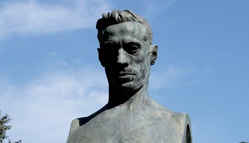 Il busto dedicato a Ubaldo Mazzini