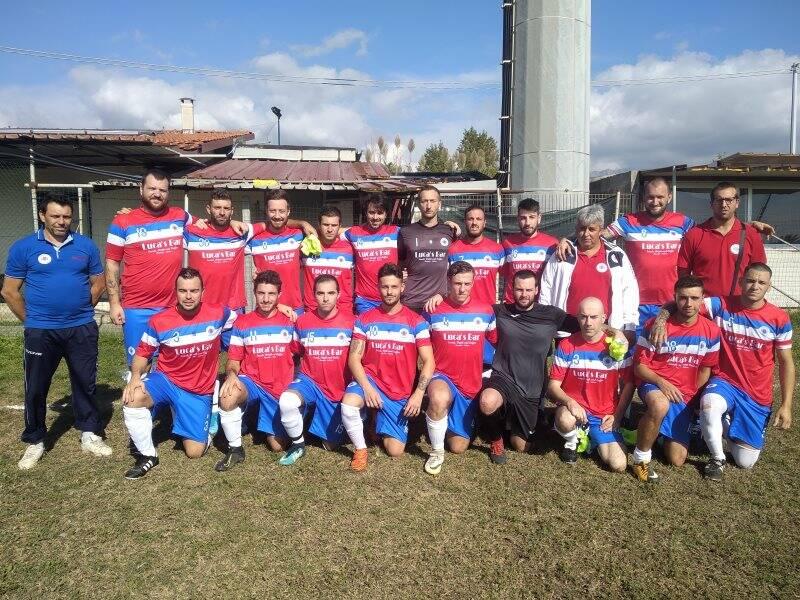 I Rangers Soliera partecipanti al campionato di III Categoria Toscana.