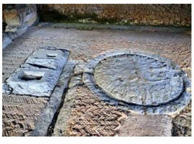 Il torcularium della Villa Romana