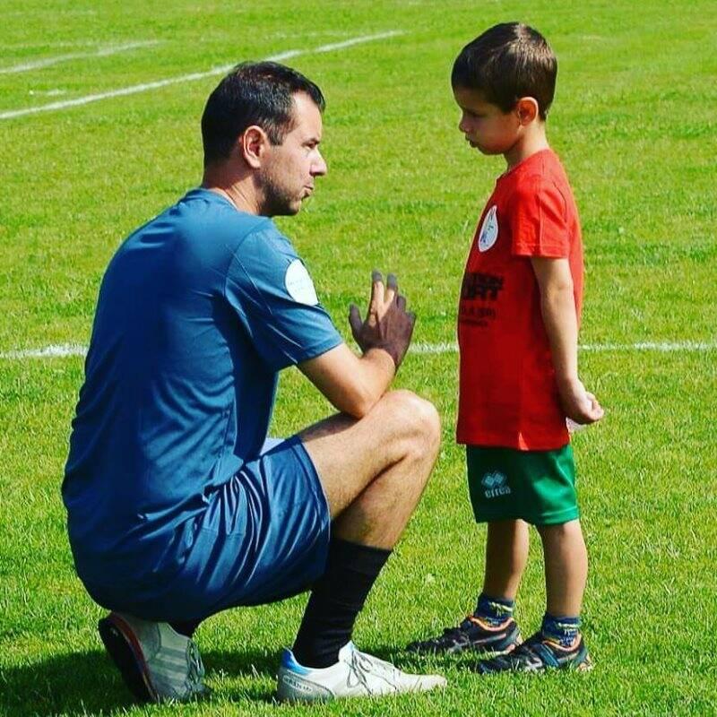 Nella foto Alessandro Luciani, responsabile della Scuola Calcio della Tarros Sarzanese