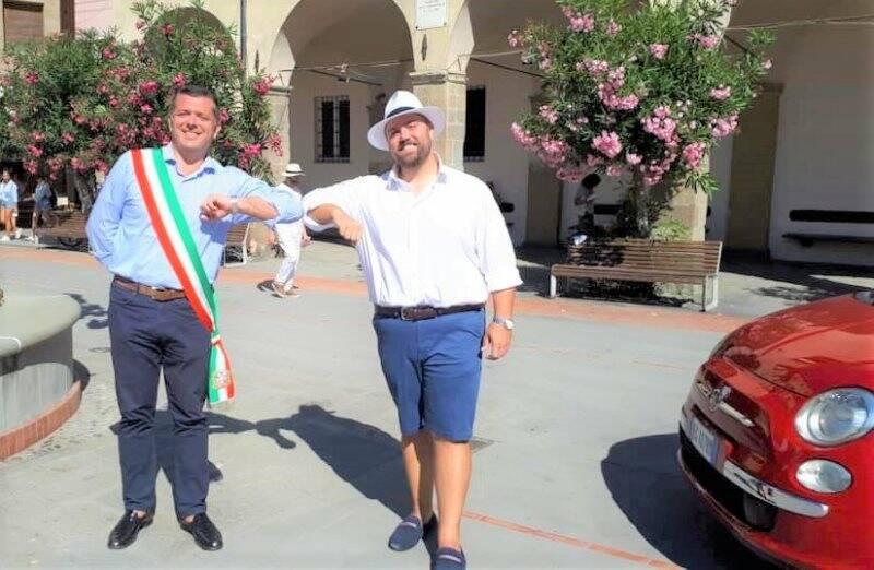 Emanuele Moggia e Guido Cariola, il tenore in cabriolet