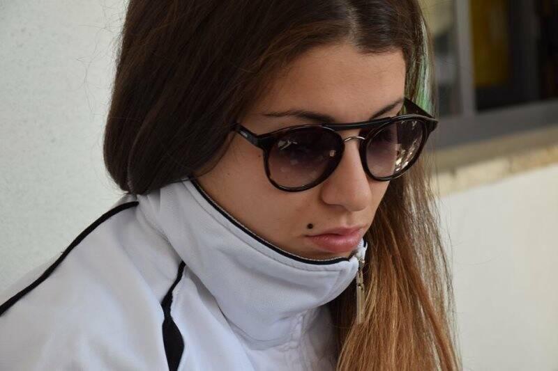 Nella foto Margherita Battolla, calciatrice dello Spezia Calcio Femminile