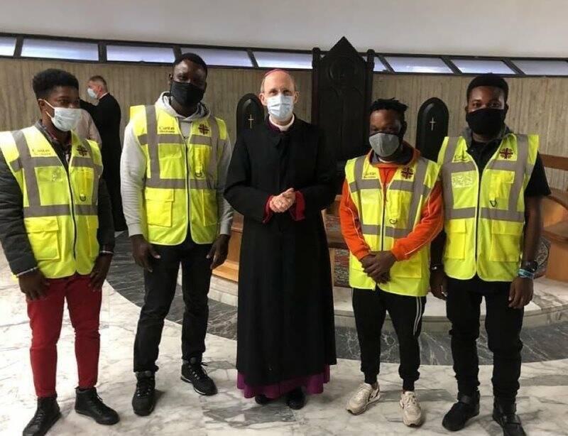 Avvio anno pastorale, ospiti Cittadella fanno servizio d'ordine