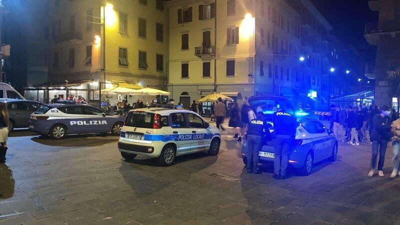 Controlli in Piazza del Bastione