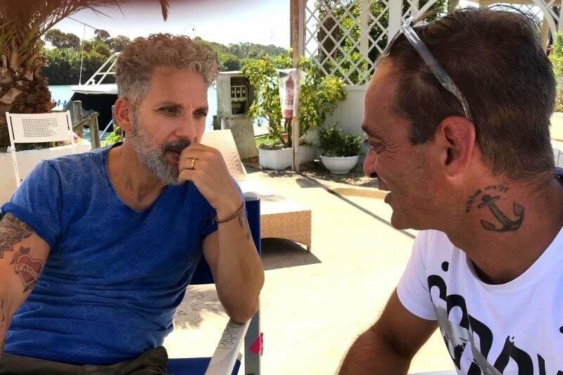 Gianfranco Franciosi e Beppe Fiorello