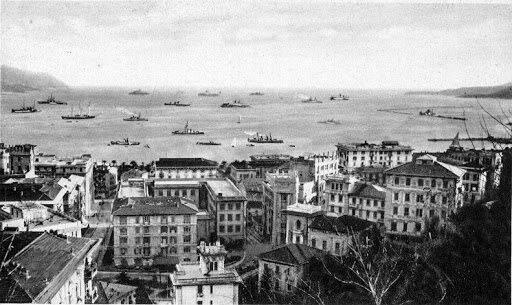 La Spezia ai primi nel '900