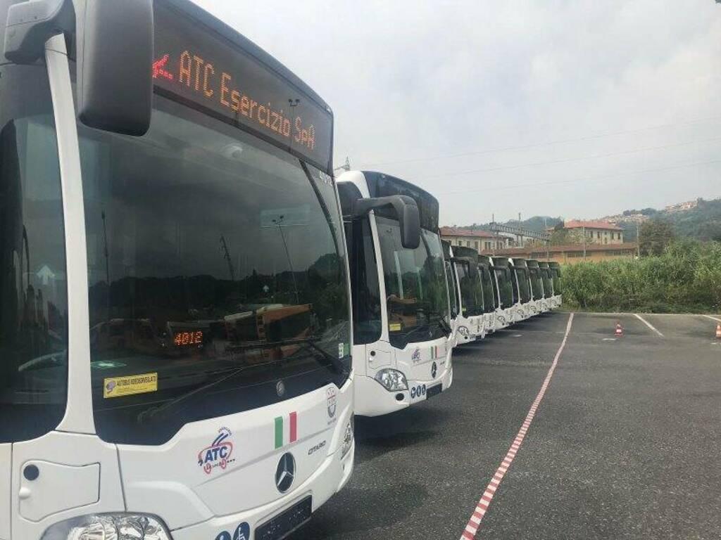 I nuovi autobus Atc