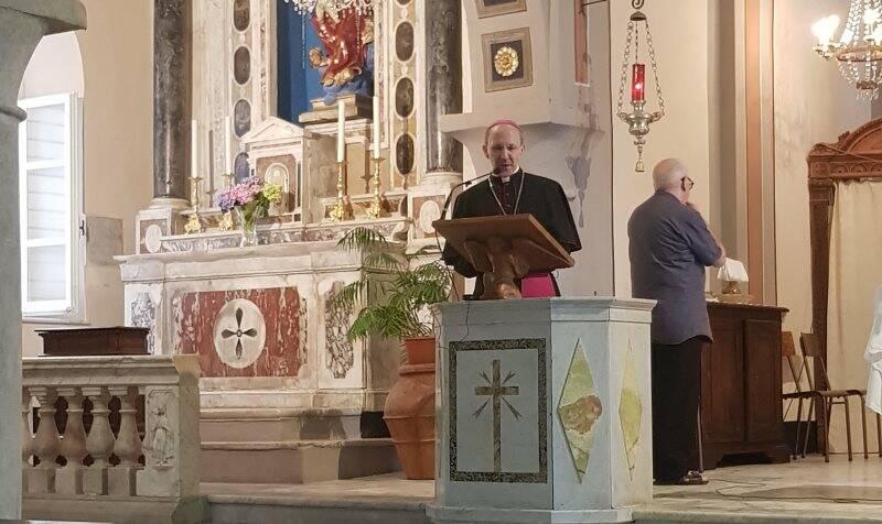 Il vescovo Palletti