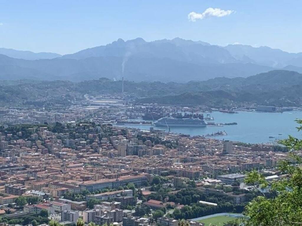 Panoramica della città della Spezia