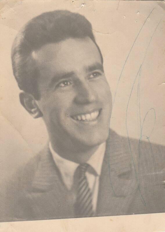 Un'immagine di William dagli archivi della famiglia Bellavigna