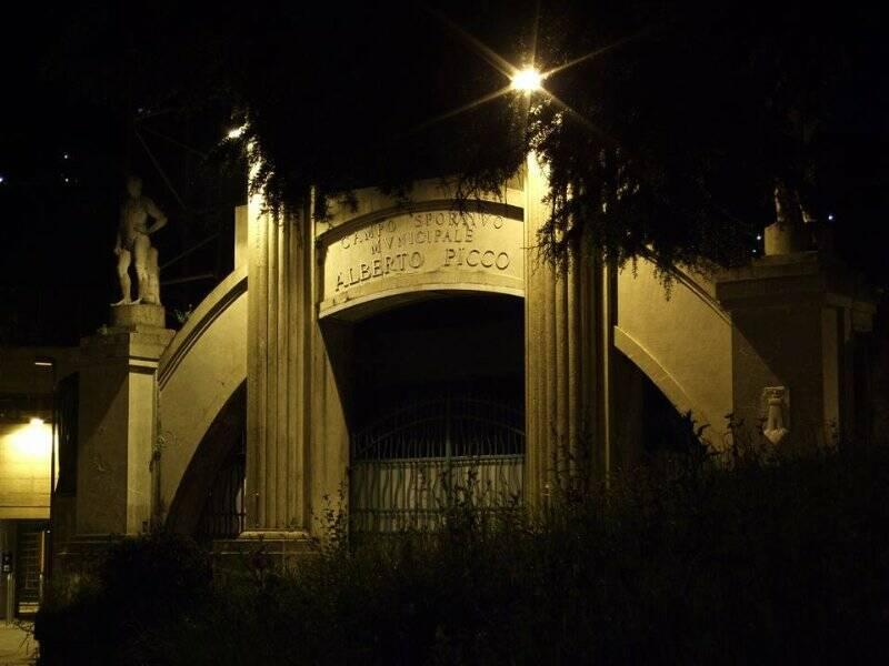 "L'ingresso monumentale del ""Picco"""