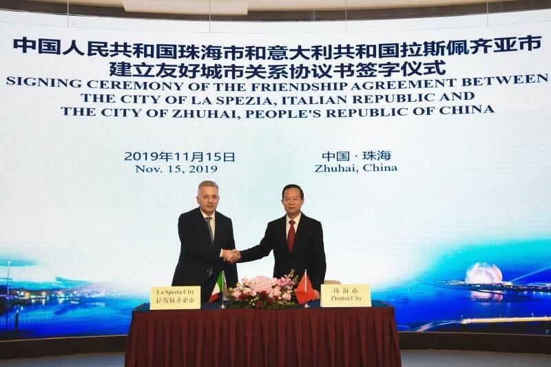 Pierluigi Peracchini a Zhuhai