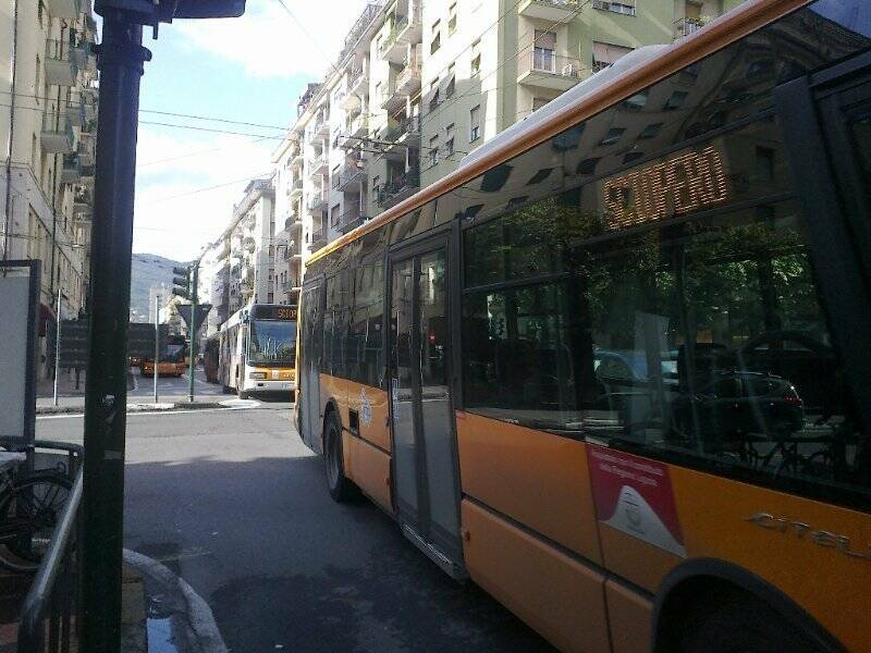 Sciopero del trasporto pubblico